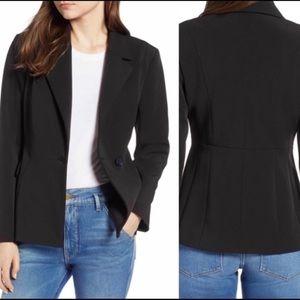 NWT Halogen Black Sculpted Jacket Size 18